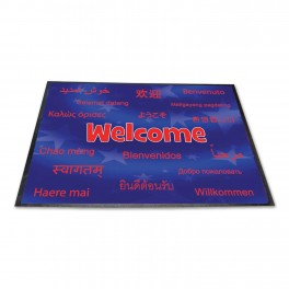 Welcome Languages Mat