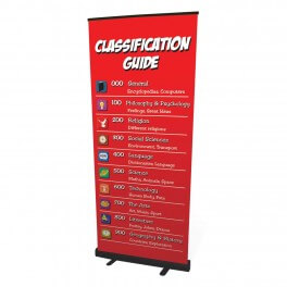 Junior Classification Roll Up Banner