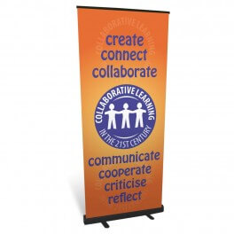 Collaborative Learning Roll Up Banner