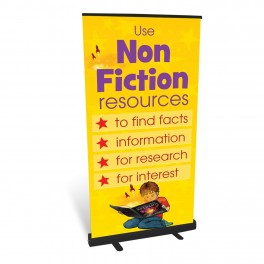Non Fiction Roll Up Banner