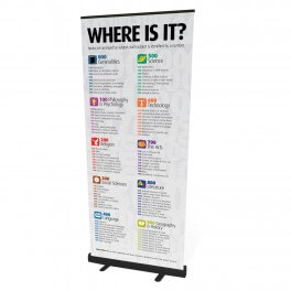 Senior Classification Roll Up Banner