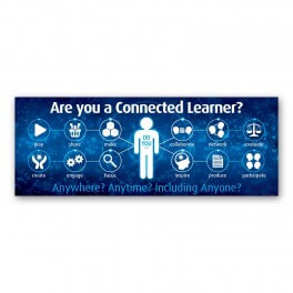 Connected Learning Wall Graphic
