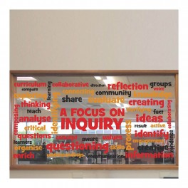 A Focus on Inquiry Word Wall