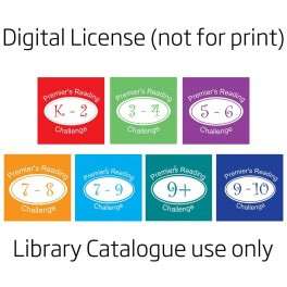 PRC Spine Labels (Digital License)
