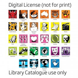 Senior Genre Spine Labels (Digital License)
