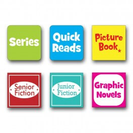 Fiction Spine Labels (Digital License)