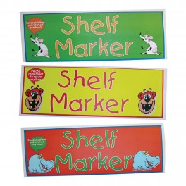 Animal Shelf Markers (30)