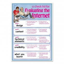 Evaluating The Internet Overview - Junior