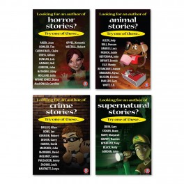 Genre Author Suggestions Posters Extension Set 1