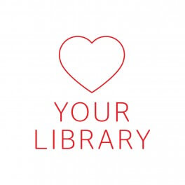 Love Your Library Vinyl Lettering
