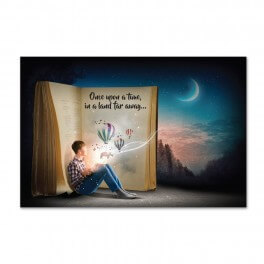 Once Upon A Time Wall Graphic Mural