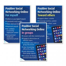 Positive Social Networking Online Posters