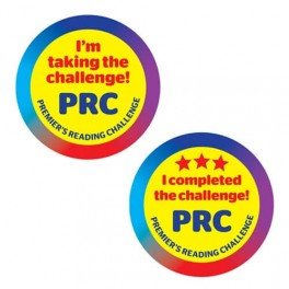 PRC Promotional Stickers (25)