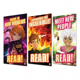 Reading Banners Set 5