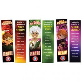 Reading Rewards Bookmarks Set 5