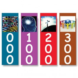 Senior Basic Non Fiction Shelf Dividers with Graphic