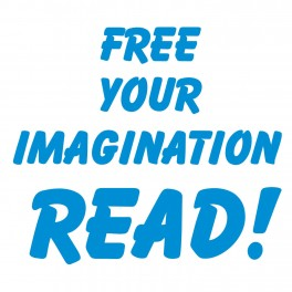 Free Your Imagination Vinyl Lettering (Large)