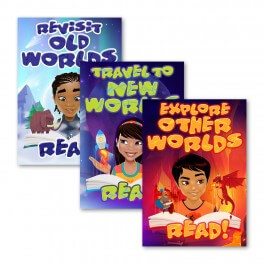 Reading Rewards Wall Graphic Stickers (Set of 3)