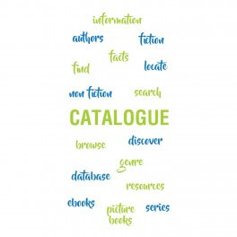 Catalogue Word Wall Vinyl Lettering