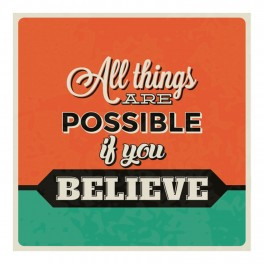 All Things Are Possible Wall Graphic Sticker
