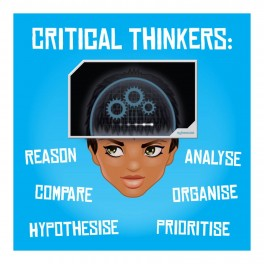 Critical Thinkers Wall Graphic Sticker