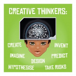 Creative Thinkers Wall Graphic Sticker
