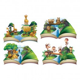Jungle Book Pack of 4