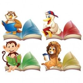 Reading Animals Pack of 4