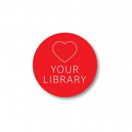 Love your library stickers (25)