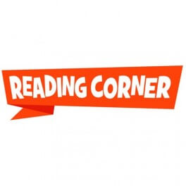 Reading Corner Printed Vinyl Sticker