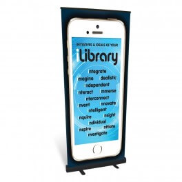 iLibrary Initiatives & Ideals Roll Up Banner