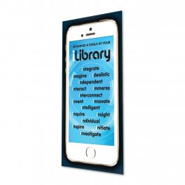 iLibrary Initiatives & Ideals Door Graphic