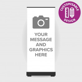 Full Custom Design Service Roll Up Banner