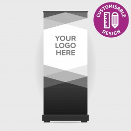 Custom School Logo Roll Up Banner