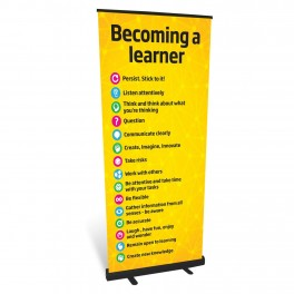 Becoming a Learner Roll Up Banner