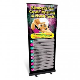 Create Meaning in Visual Texts Roll Up Banner