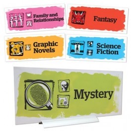 Senior Genre Acrylic Location Signs (5 pack)