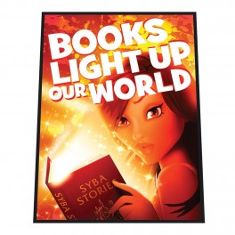 Books Light Up Our World Mat
