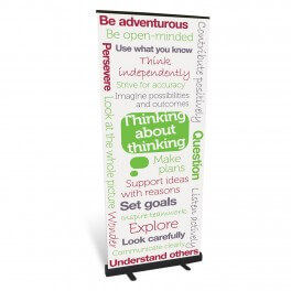 Think About Thinking Roll Up Banner