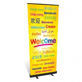 Welcome Roll Up Banner Junior