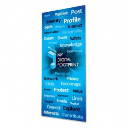 My Digital Footprint Door Graphic