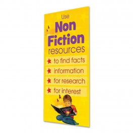 Non Fiction Door Graphic
