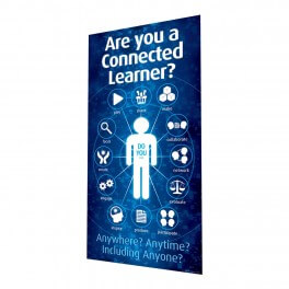 Connected Learner Door Graphic