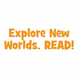 Explore New Worlds Vinyl Lettering