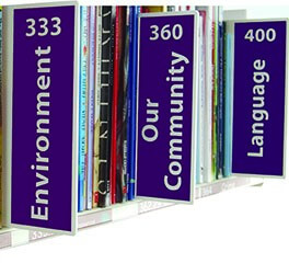Vinyl Signs to Collection Dividers